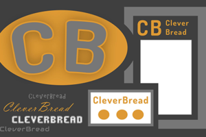 CleverBread website graphic design services