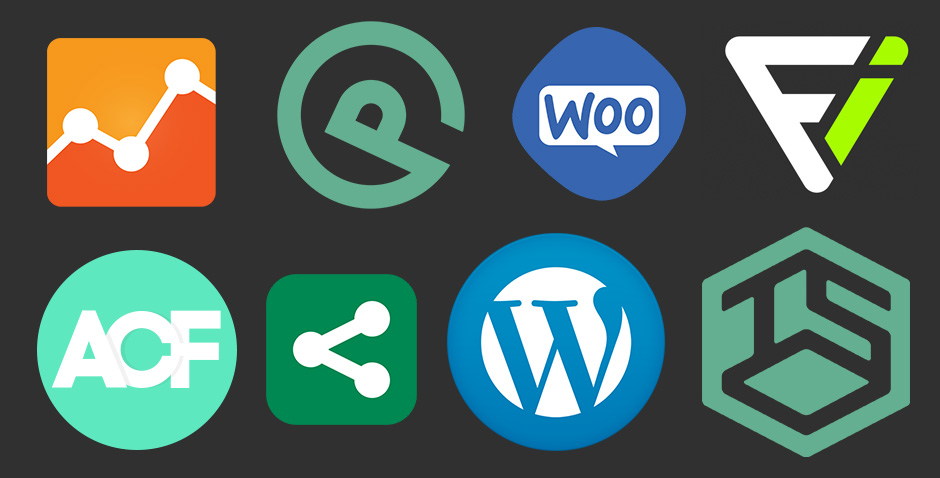 Web design partners logos combined