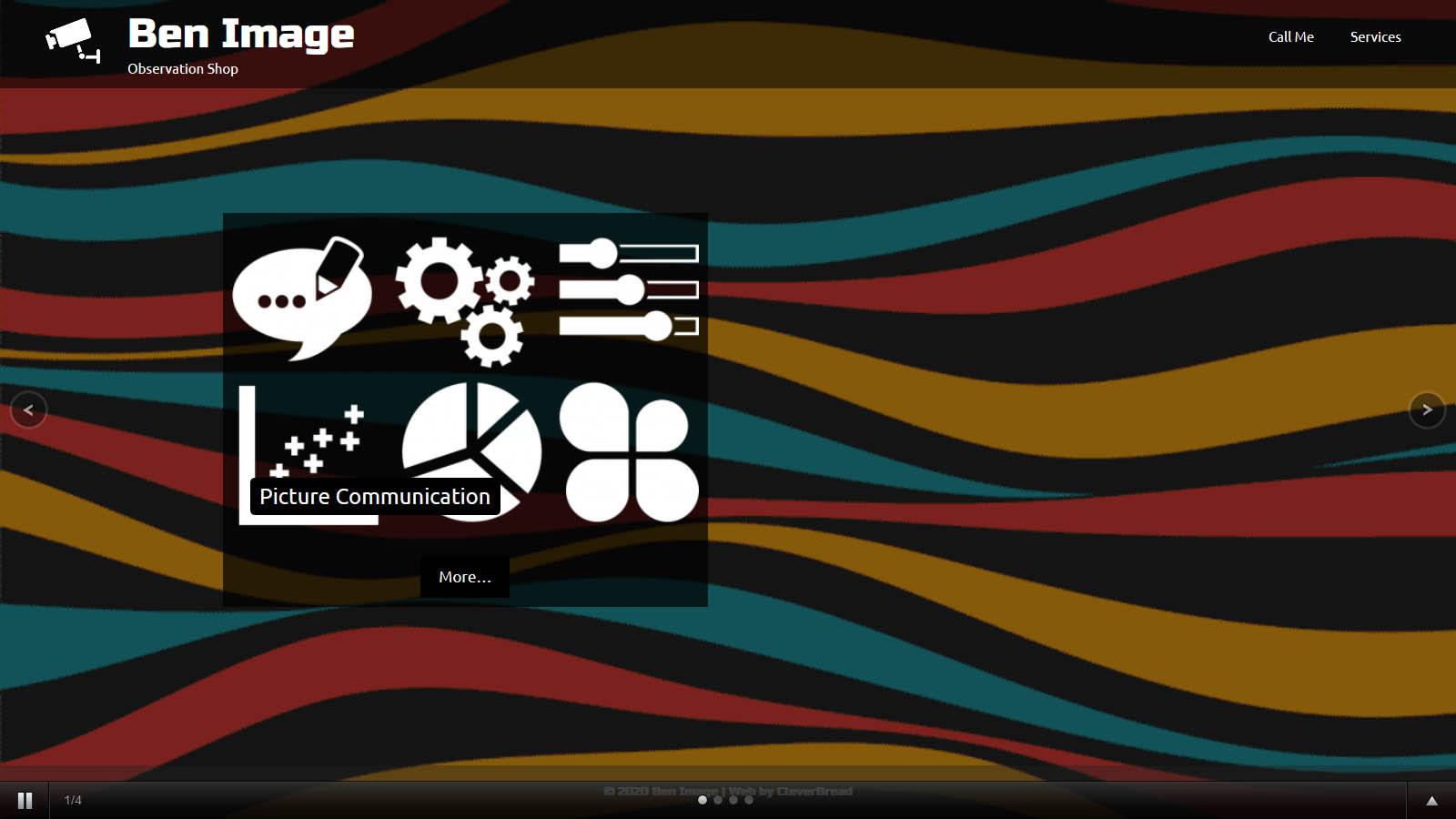 Digital image service website
