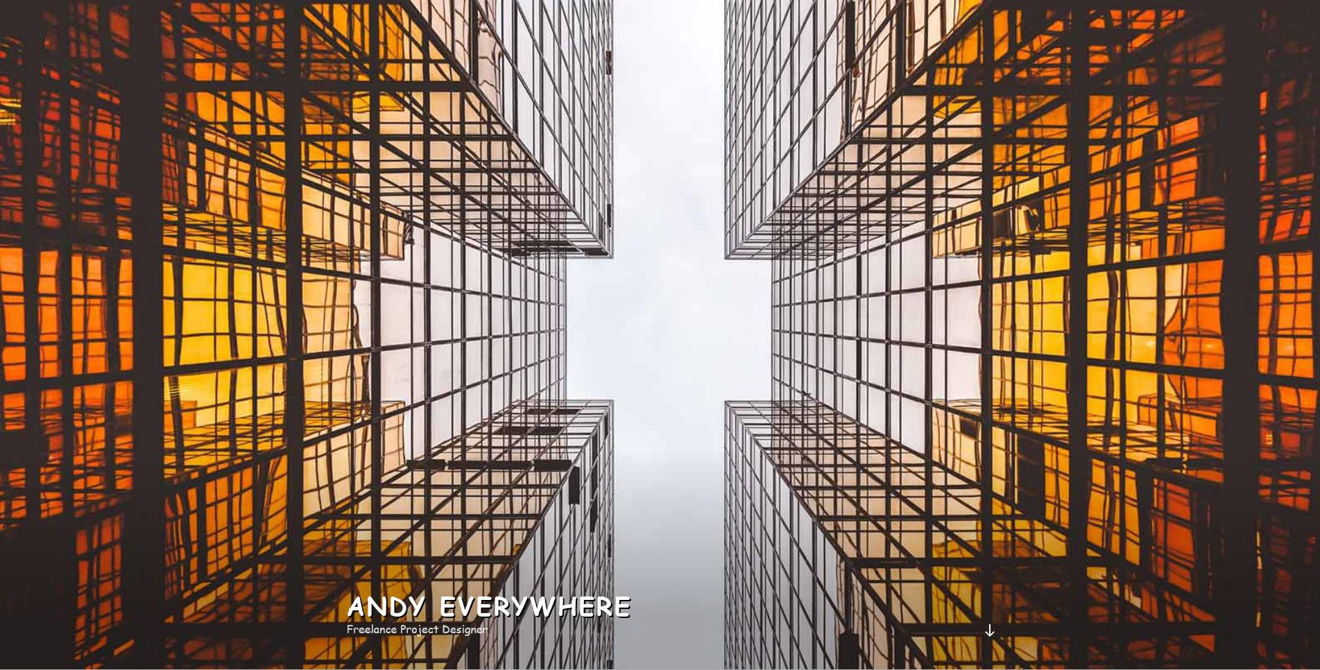 Andy Everywhere Portfolio Website Design